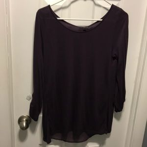 Express Small Dark purple dress shirt